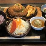 とんかつ とまと赤茄子家 - 料理写真:和風ハンバーグ膳1490円税込み