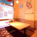 錦珍楼点心舗 - 掘りごたつ式の半個室もご用意しております