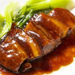 135酒場 - 東坡肉(豚肉の角煮)トンポーロー