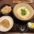 香川 一福 - 料理写真:しょうゆ 冷 中+とり天+たぬきごはん