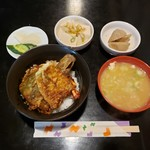 天安 - 天丼 800円