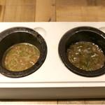 Dステーキ - キノコソース、ナッツソース