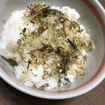 澤田食品 - 料理写真:ごはんにふりかけて…