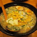 むがく庵 - 料理写真:チーバターコーンラーメン