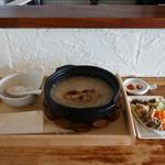 コンジーテーブル - オーガニックの国産米とじっくりボイルした鶏肉粥