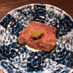 焼肉処 彩 - 特選ハラミは柚子胡椒で(*´∀`)♪