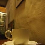 食堂ルインズ - ホットコーヒー