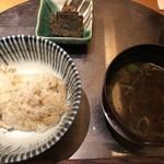 神楽坂 和食 千 - お食事
