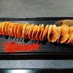 太陽城 - 寶塔薯片(じゃがいも串焼き)