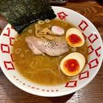 玉五郎 - 料理写真:味玉煮干しらーめん