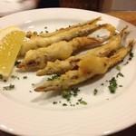 バルティナ - いかなごのフリット!初めて食べました〜!柔らかくて美味しかったです(●´ε`●)