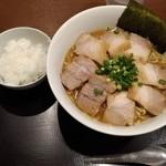 118241363 - チャーシュー麺 990円                       +半ライス 50円