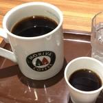 モリバコーヒー - キリマンジャロ 300円 (税込) と、おまけのブレンドコーヒー