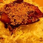 京風 里のうどん - 半バラ丼