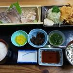 四季の海鮮 魚々味 - 答志島トロさわら定食※季節限定