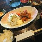 ごだいご - 若鶏の唐揚げ定食。980円也。