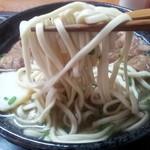 11826615 - 麺は細目の自家製麺!少し粉っぽい?