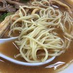 118267128 - ストレート丸麺がスープに合う