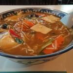 中華風レストラン 紅華 - カレータンメン 850円
