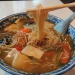 中華風レストラン 紅華 - 細麺リフト