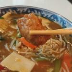中華風レストラン 紅華 - 肉団子が入ってました
