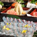 天ぷら海鮮 五福 - 鯛しゃぶ