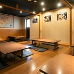 天ぷら海鮮 五福 - 座敷_3F