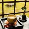 樹の音 - ドリンク写真:ウインナーコーヒーと癒しの苔玉。