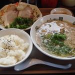きんしゃい亭 - A定食 750円