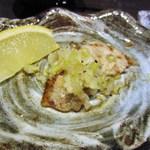 焼肉 蔵元 - これはねぎ塩にレモンをかけていただきました。