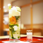 茶房こいし - 恋する檸檬の抹茶パフェ