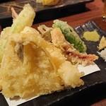 ろく - 天ぷら盛合せ