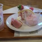 BonBon BERRY cafe - ファクトリーショートプレート  チーズスムージー