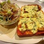 riso - 料理写真:ピザ風トースト