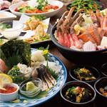 土間土間 - 『贅沢コース』海の幸の贅沢鍋