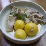 多田屋 - 鳥のもつ煮