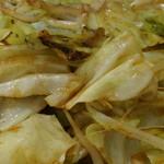 双葉食堂 - 野菜炒め定食 タレ