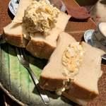 アメリカン - 玉子サンド