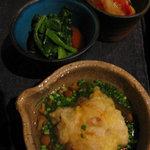 なると屋+典座 - 惣菜三品