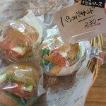 パンコバ - 料理写真:パンコバサンド230円