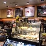 タリーズコーヒー - レジ周りです。営業時間 平日7時30分~18時30分 土曜・日曜 9時30分~17時  祝日 休み