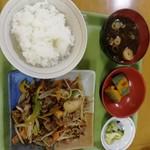 めし処銭屋 - 牛スタミナ定食660円税込。価値ある660円だと思います。