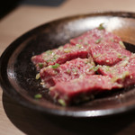 焼肉 富や - 仙台牛イチボ 塩☆