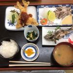 弁天会館 - ます定食 ¥1,400