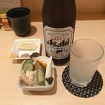 118306228 - ♦︎瓶ビール 700                       ♦︎お通し