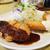 MOBU - 料理写真:うす切りとんかつ と 鮭フライ