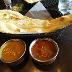 インドの恵み - カレー2種ランチ(チキン・日替わりカレー)