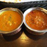 インドの恵み - チキン・日替わりカレー