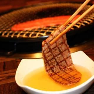 【お出汁】で食べる神戸ビーフはとろけるような味わいです!
