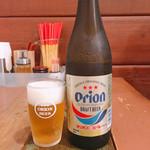 金月そば - オリオンビール 500円